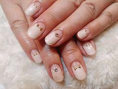 ガーリーベージュ逆フレンチ 【B-WORLD】 http://nail-beautynavi.woman.excite.co.jp/design/detail/33805?pint ≪ #nail #nails #nailart #softgel  #ネイル #ナチュラルネイル #ベージュ #オフィスネイル ≫