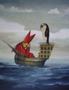 holy emperor penguin by ~HOMELYVILLAIN on deviantART