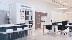 Nouvelle boutique Porcelanosa à Cannock (UK) #Porcelanosa #showroom #Cannock #interiordesign #architecture