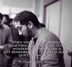Inspirational Quotes & Sayings By Nouman Ali Khan. Nouman Ali Khan is an American Muslim who has contributed a lot to the Muslim society by awakening the youth through his speeches and lectures. Muslim Quotes, Religious Quotes, Religious Studies, Hadith, Alhamdulillah, Nouman Ali Khan Quotes, La Ilaha Illallah, Quran Quotes Inspirational, Inspiring Quotes