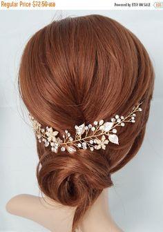 Verkauf 15 % Rabatt auf Hochzeit Haar Rebe, Gold Braut Kopf Stück Silber Braut…