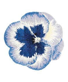 Look what I found on #zulily! Blue Pansy Rug by Nourison #zulilyfinds