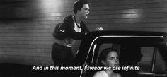 The Perks of Being a Wallflower..... Crying. I love this movie.