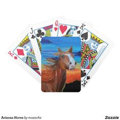 Arizona Horse Bicycle Playing Cards