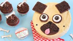 Make this cute cake for the dog lovers in your life, full of chocolaty-peanut butter goodness.