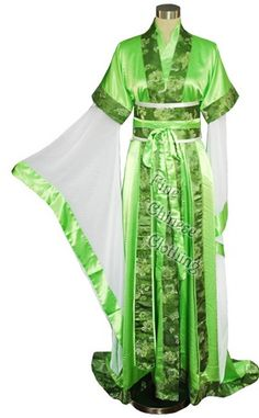 <3 - The style of Han Chinese clothing can be summarized as containing garment elements that are arranged in distinctive and sometime specific ways