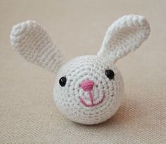 The Bunny: Chinese Zodiac Animals. Part of a series of 12 free patterns to celebrate Chinese New Year by Turtlekeeper Designs. Crochet Bunny, Crochet Animals, Diy Crochet, Crochet Crafts, Crochet Toys, Crochet Projects, Crochet Flower, Irish Crochet, Crochet Ideas