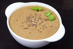 Supa crema de linte Cheeseburger Chowder, Cantaloupe, Food And Drink, Soup, Vegan, Drinks, Cooking, Pies, Drinking