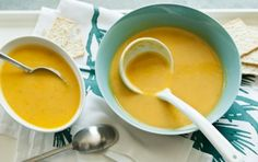 Classic Butternut Squash Soup // This traditional squash soup is a serious crowd pleaser. Put a spin on it by trying one of the flavorful variations suggested.