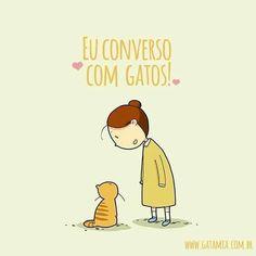 Conversa com gatos