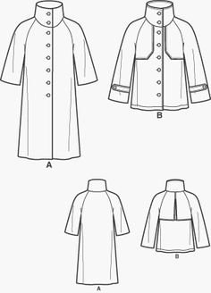 "Simplicity Sewing Pattern 3966 Misses' ""Built By You"" Coat or Jacket,"