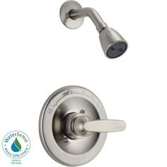 Delta Foundations 1-Handle Shower Only Faucet Trim Kit in Stainless (Valve Not Included) Model#  BT13210-SS (2) $4145