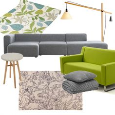 Lime and Grey | Moodboards | housetohome.co.uk