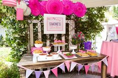 Simone's 2nd Birthday Party... I love this idea, a taco bar at kids party!
