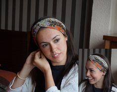 Turbante colores. Turban / Headband.