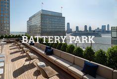 Battery Park rooftop bar