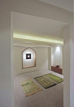 """just-the-way-youre-not: """"left-my-heart-in-madina: """"cultureislam: """"Prayer room """" I want my own house so I can have my own prayer room. Meditation Raumdekor, Meditation Room Decor, Morning Meditation, Prayer Corner, Islamic Decor, Islamic Prayer, Prayer Room, Islamic Architecture, Room Interior Design"""