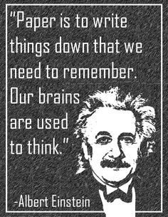"""Paper is to write things down that we need to remember. Our brains are used to think."" Albert Einstein Math Teacher, Teaching Math, Teacher Stuff, Maths, Math Activities For Kids, Math Resources, Vocabulary Wall, Math Bulletin Boards, Math Classroom Decorations"