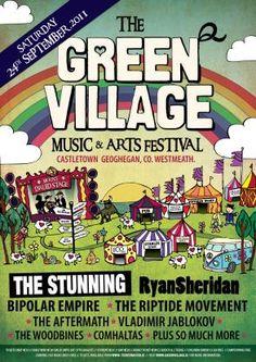 Green Village   Affiche
