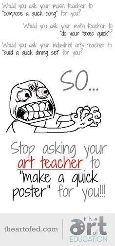 """Image result for """"art teacher"""" humor"""