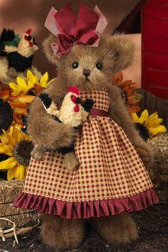 Bearington Bears Robin and Rooster