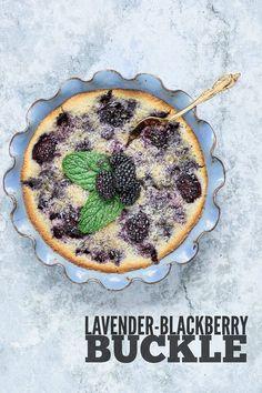 Lavender-Blackberry Buckle | Kailley's Kitchen
