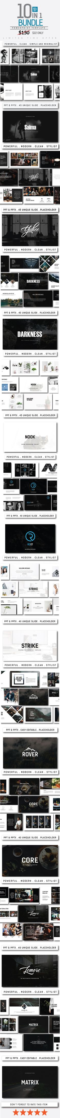 Summit Black | Keynote, Template and Business powerpoint templates