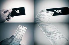 Currículum en forma de tarjeta de visita de Víctor Rodríguez Style, Shape, Visit Cards, Swag, Stylus, Outfits