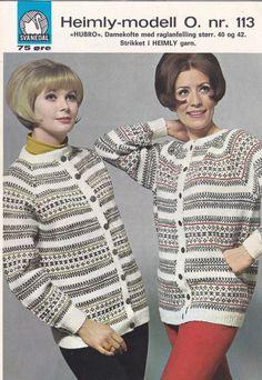 Hubro 113 Hand Knitting, Crafty, Sweaters, Design, Fashion, Threading, Moda, Fashion Styles, Pullover