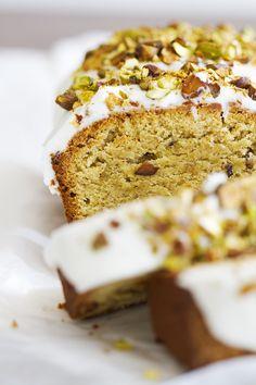 Gluten Free Pistachio Pound Cake   girlversusdough.com @girlversusdough