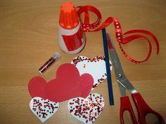 Inspirace na valentýnskou dekoraci
