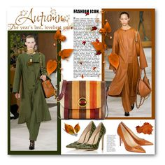 """""""GORGEOUS AUTUMN"""" by purplerose27 ❤ liked on Polyvore featuring Christian Louboutin, Gianvito Rossi and Tory Burch"""