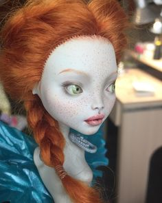 Or these eyes in grey Custom Monster High Dolls, Monster High Repaint, Custom Dolls, Ooak Dolls, Art Dolls, Doll Face Paint, Ever After Dolls, Enchanted Doll, Haunted Dolls