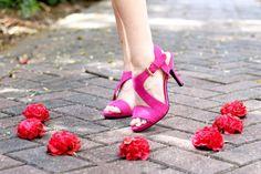 Amazing pink heels.