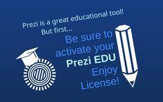 Have an edu address sign up for a free prezi edu enjoy license