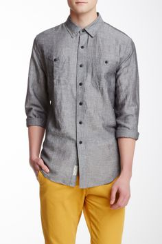 Long Sleeve Chambray Shirt on HauteLook