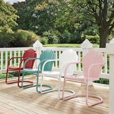 Wrought Studio Karim Metal Patio Dining Chair (Set of , Metal Outdoor Chairs, Outdoor Rocking Chairs, Outdoor Furniture Sets, Outdoor Planters, Outdoor Seating, Garden Furniture, Outdoor Spaces, Porch Chairs, Patio Dining Chairs