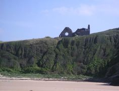 Ruine einer Kirche, Barneville Carteret, Normandie - Foto: S. Hopp