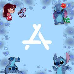 Apple Wallpaper Iphone, Disney Phone Wallpaper, Cartoon Wallpaper Iphone, Stitch App, Lilo Et Stitch, Lilo And Stitch Drawings, Disney Doodles, Disney Collage, Themes App