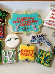 Hitchhiker's Guide to the Galaxy Cookies