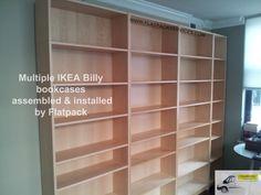 IKEA Billy Bookcase assembly by Flatpack in Arlington, VA  www.flatpackservice.com  Arlington, VA furniture assembly service