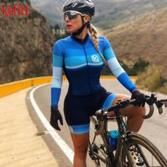 Cycling Suit, Women's Cycling Jersey, Bicycle Women, Bicycle Girl, Bike Mtb, Female Cyclist, Cycling Girls, Polyester Material, Bike Style