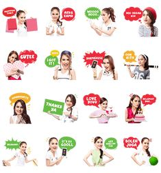 Fun Chat with Cinta & Elevenia - http://www.line-stickers.com/fun-chat-with-cinta-elevenia/