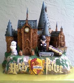 Harry Potter at Hogwarts Castle by BershoDesigns on Etsy, $4800.00  And people think I charge a lot.
