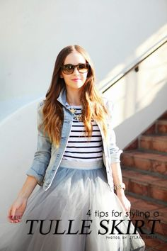 Merrick's Art // Style + Sewing for the Everyday Girl : HOW TO STYLE A TULLE SKIRT