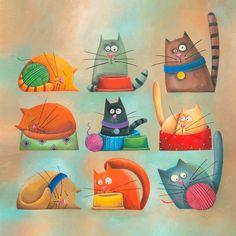 Carolina Farias : une vie de chat !