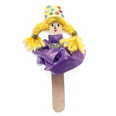 Princess Pinky Puppet | Crafts | Spoonful