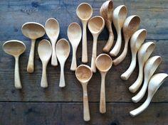 Joshua Vogel makes wonderful wooden spoons