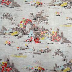 Vintage Fabric Retro DIY Cushion Patchwork Craft