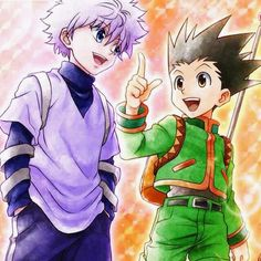 Hunter x Hunter images Killua and Gon wallpaper and background ...